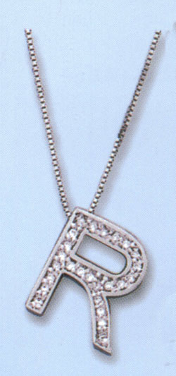letter r diamond. Love Letter - quot;Rquot; $330.00